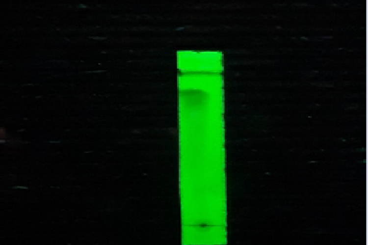 Pattern of chromatogram of compounds I-1
