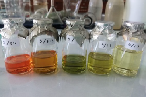 The fraction from rice bran extract